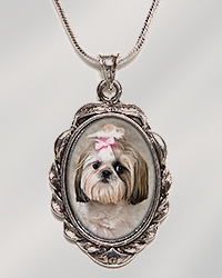 Petite Antique Oval Silver